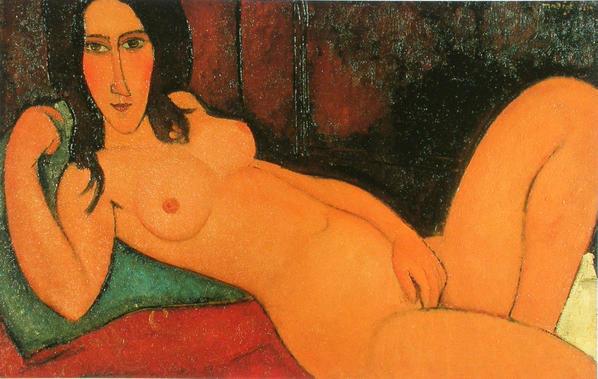 Modigliani femme nue