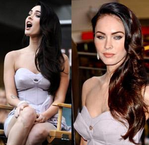 seins Megan Fox