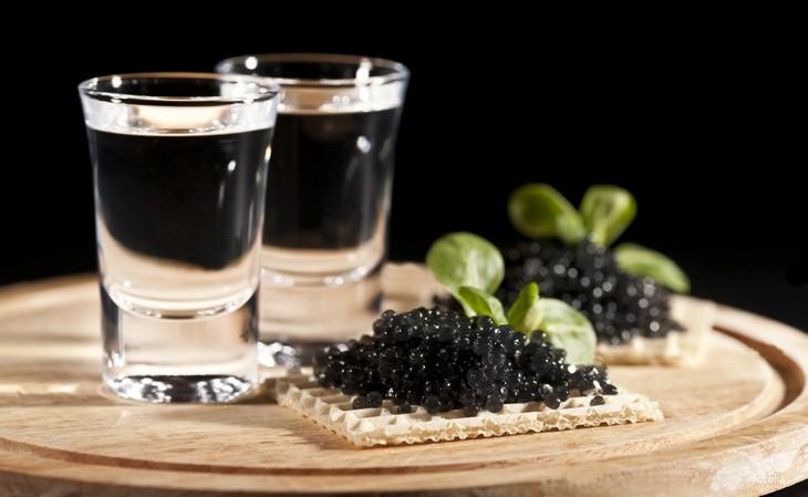 Caviar et vodka pour relancer la libido