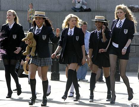 Les écolières anglaises et l'abstinence sexuelle
