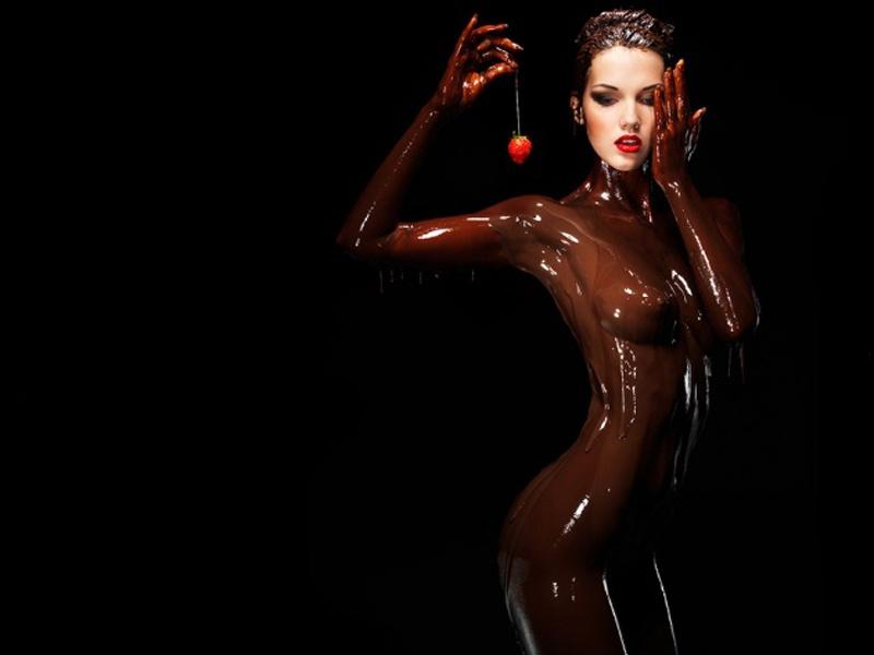 fille au chocolat